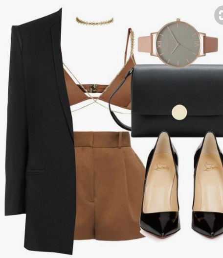 В офис или на свидание: 6 идей, как красиво и элегантно носить шорты