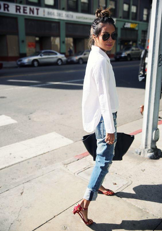 25 белых рубашек, в которых вы будете выглядеть как королева