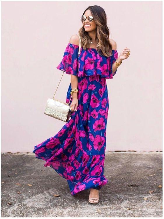 7 причин, почему в летнем гардеробе должно быть длинное платье