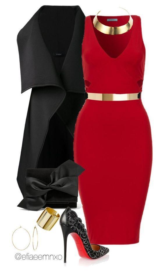 Эти 8 платьев докажут вам, что красный — идеальный цвет