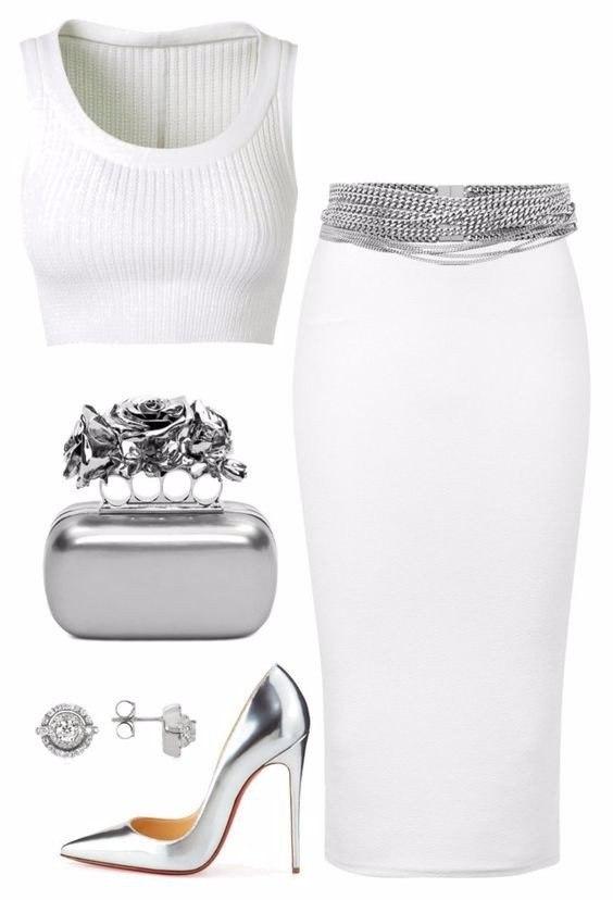 6 примеров, как носить носить белый и выглядеть дорого