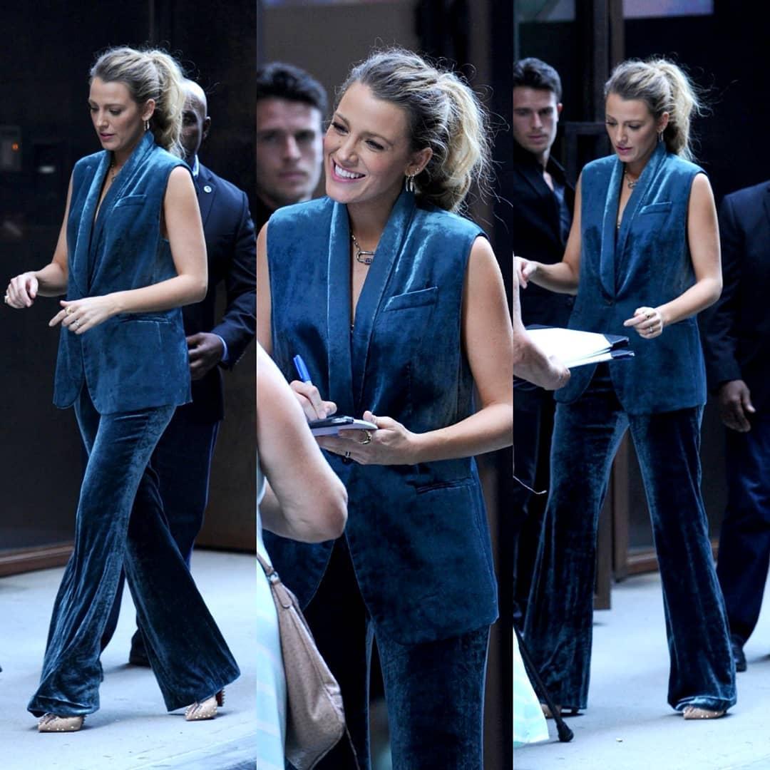 Женщина-огонь: 8 невероятных образов Блейк Лайвли в костюмах, которые покорят и вас тоже