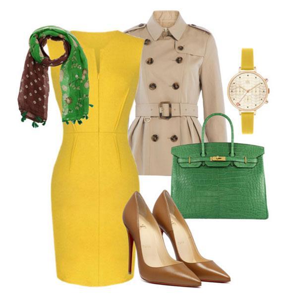 Желтый в деле: 6 свежих идей, с чем носить и как не выглядеть старомодно