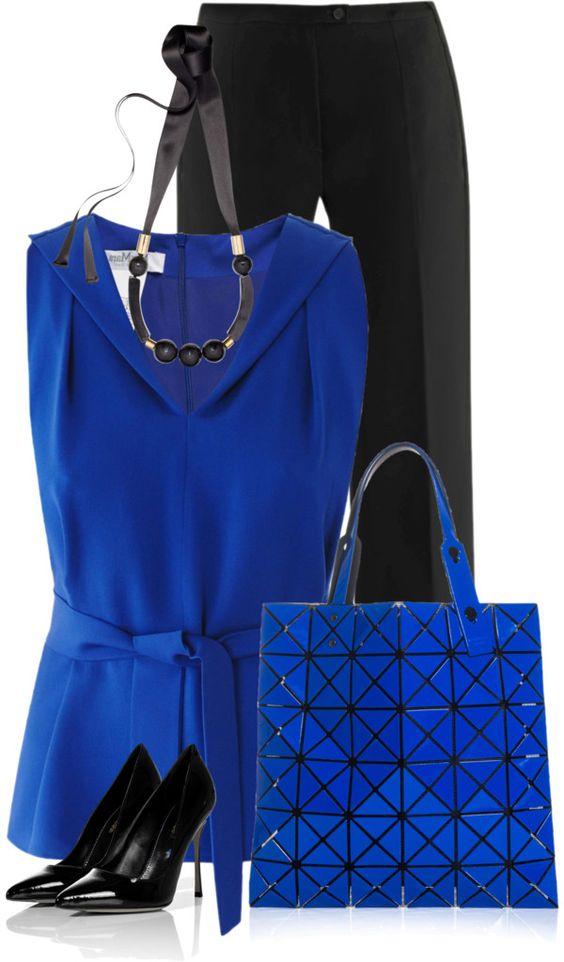 10 стильных идей, как носить синий и всегда сиять