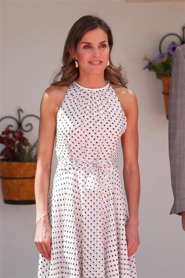 Ох, уж этот горох! Королева Летиция вновь очаровала всех на юге Испании (и не только)