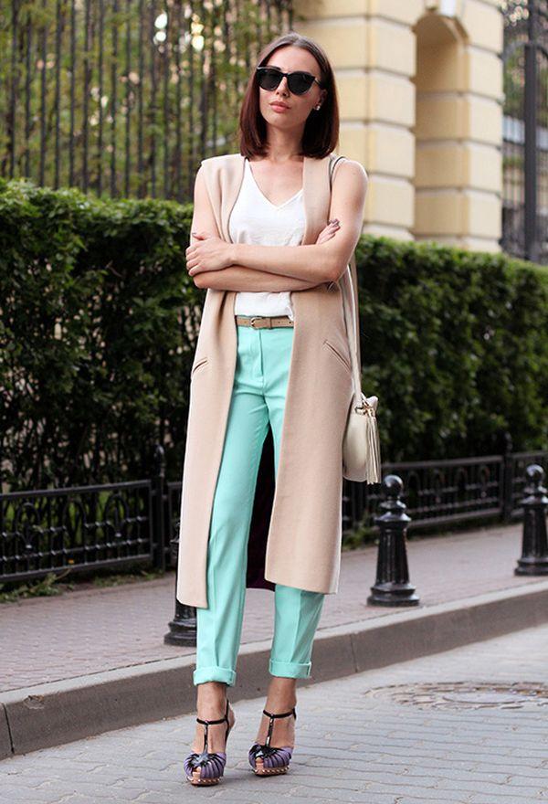 Носите жилет с душой: 10 стильных вариантов на осень