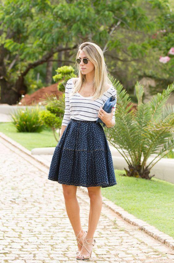 7 стильных советов, как подчеркнуть свою женственность с юбкой-солнце