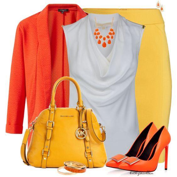 9 примеров, как носить яркие цвета каждый день — и летом, и осенью