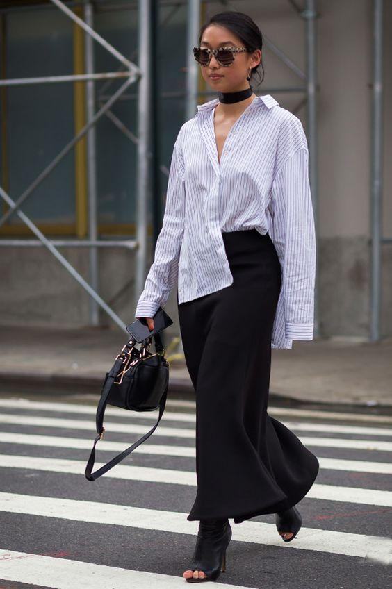 Берите на заметку: как носить самый эффектный тренд сезона — рубашку-oversize (5 способов)