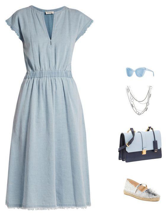 8 сказочных платьев в нежно-голубом цвете, которые покорят любого принца