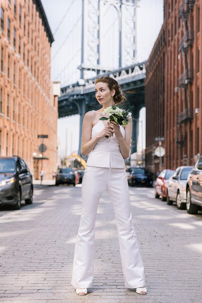 9 необычных, но стильных идей невест, которые можно смело надеть и в обычной жизни