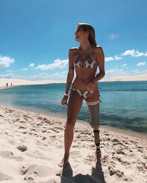 Это не просто красавица и успешная модель, а самая сильная женщина, которую мы знаем