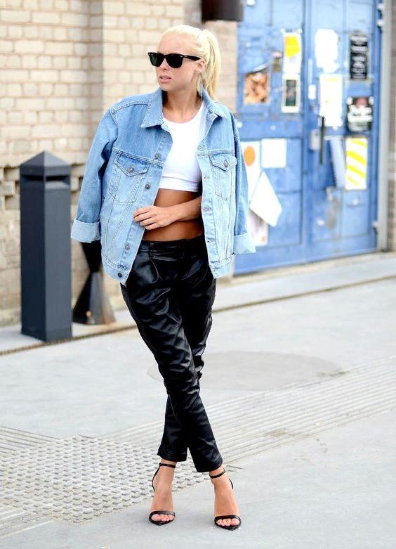 5 модных хитростей, как носить джинсовую куртку и казаться стройнее