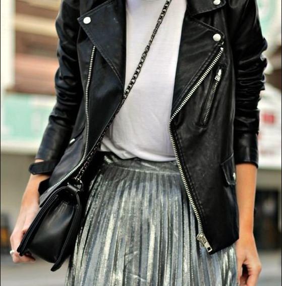 6 модных примеров, как носить косуху и выглядеть дорого