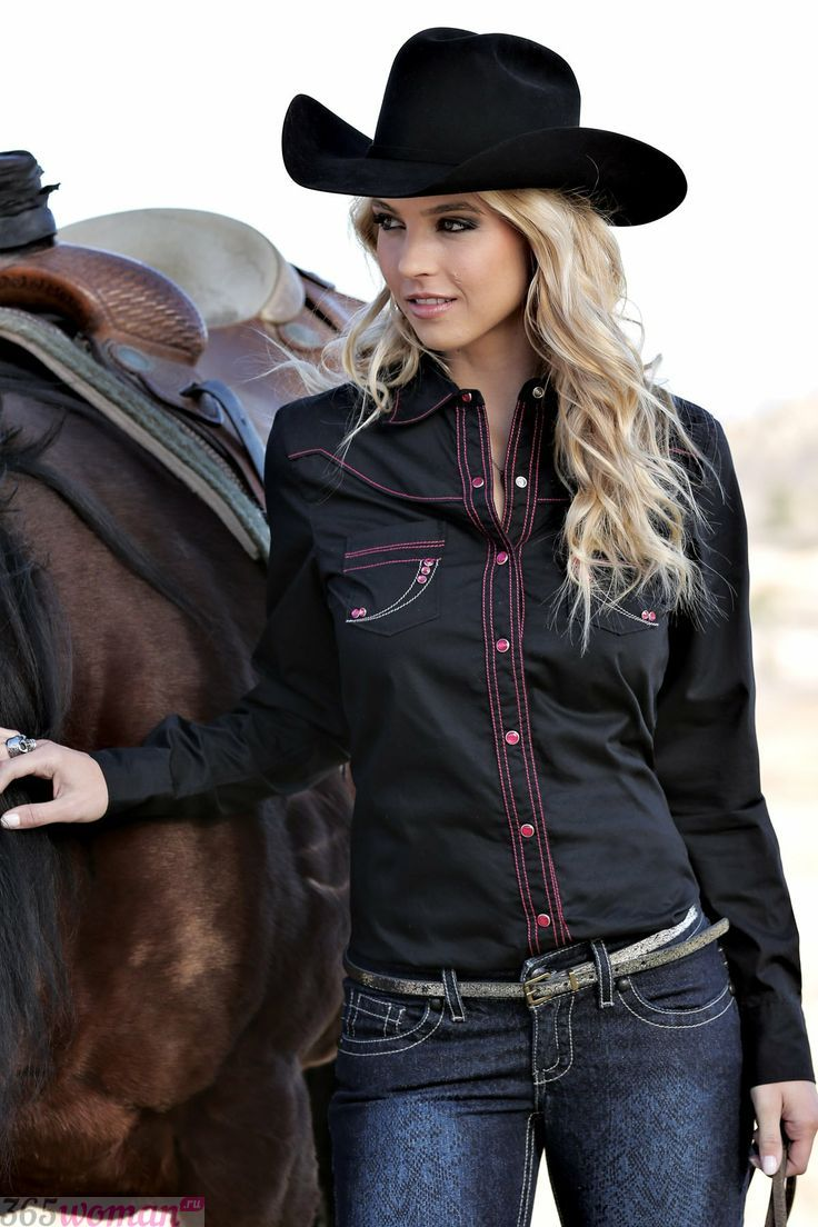 В тренде снова сильные женщины: 5 ковбойских трендов осени