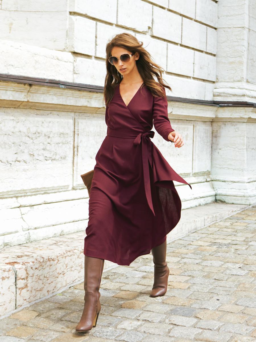 Эти 4 платья из лета отлично подойдут для осени и даже зимы