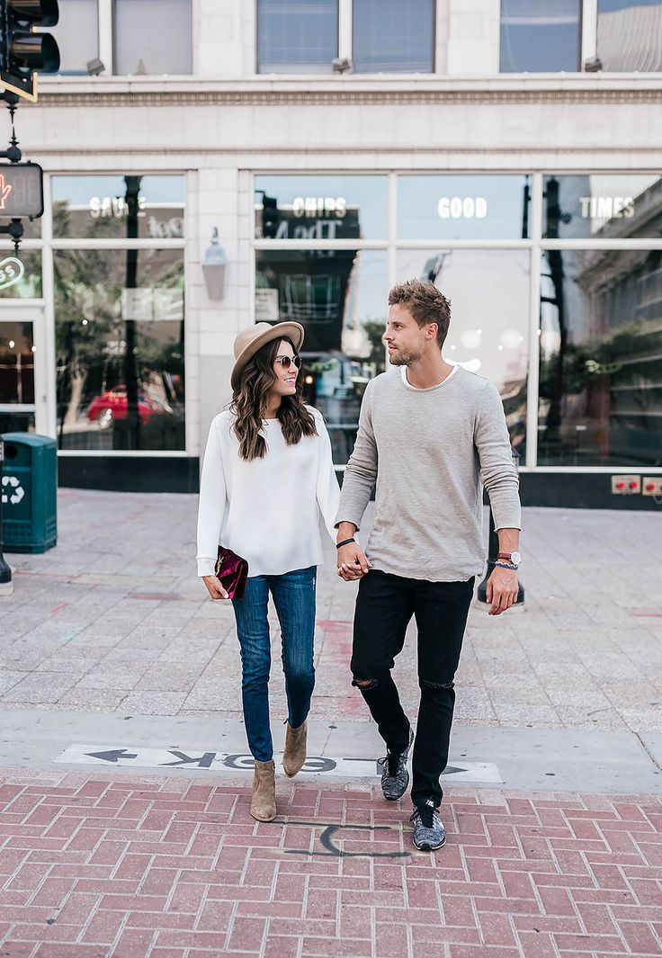 Как с помощью одежды показать, что вы пара: 8 стильных примеров