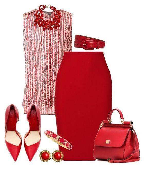 Lady in red: 11 невероятно элегантных идеи для образа в красном