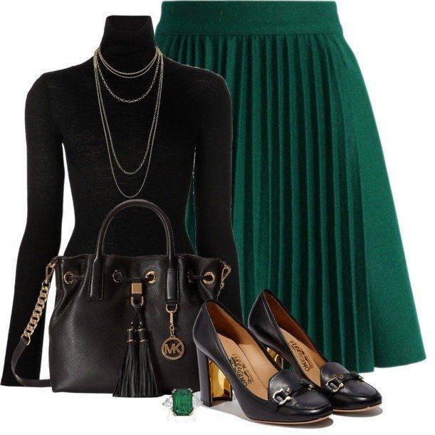 Как носить одну и ту же юбку каждый день и быть разной: 6 стильных вариантов