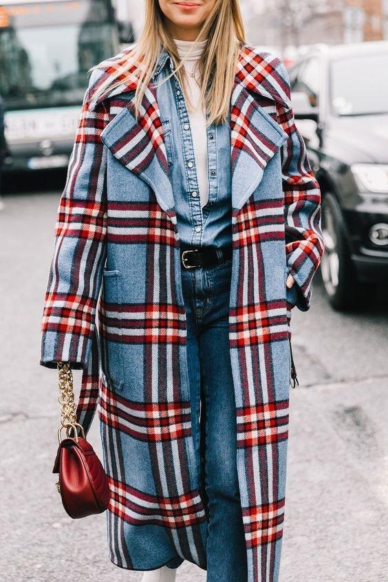 7 стильных клетчатых пальто, в которые невозможно не влюбиться