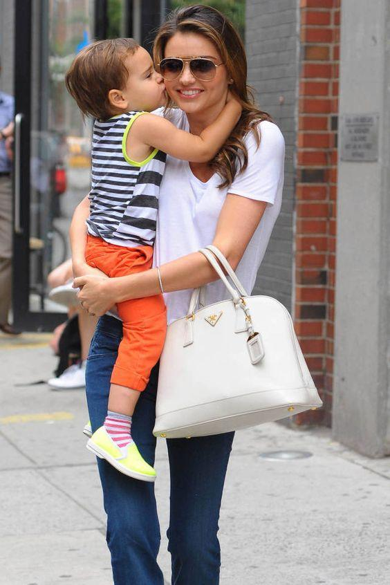 Звездная мода на двоих: 6 модных примеров от Миранды Керр и ее сынишки