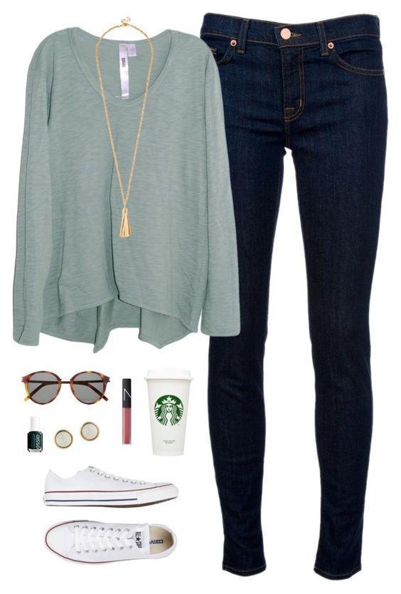 Так просто! 10 идей, как выглядеть стильно даже в обычных джинсах этой осенью