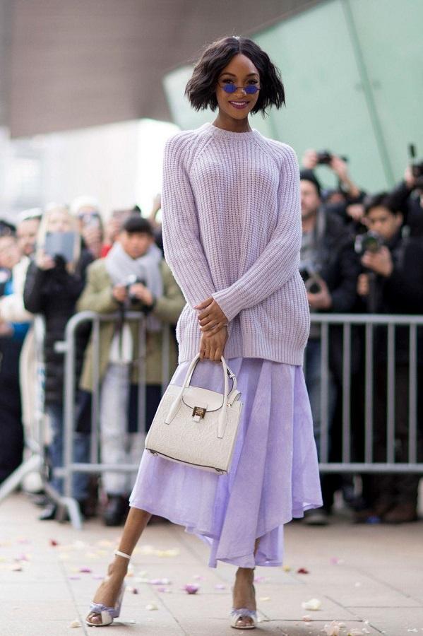 Лепесток крокуса — самый модный цвет осени 2018