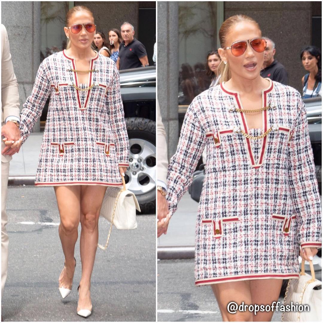 Платье за 2000 евро и полный провал — худший образ Джей Ло за последнее время
