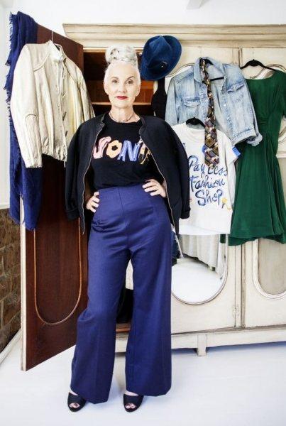 6 стильных решений от Джеки Бюргер для тех, кто и в 50 хочет выглядеть молодо и свежо