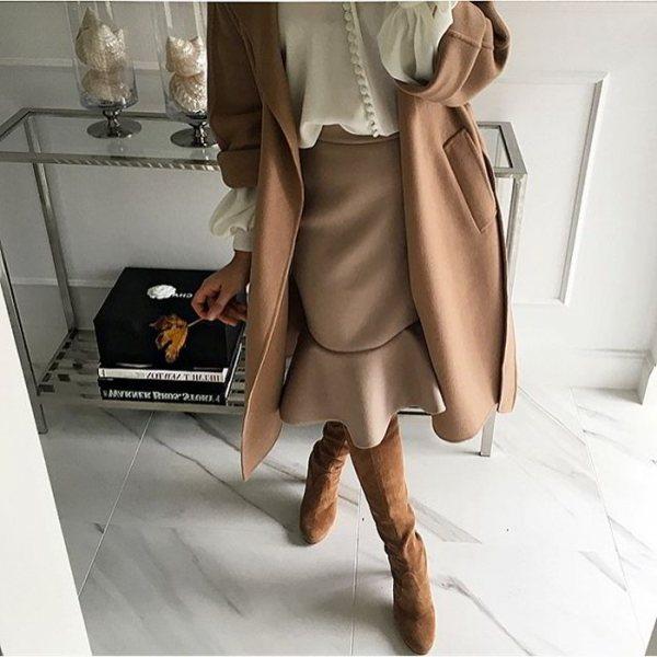 Не полнит, а выглядит стильно и сидит идеально: 8 юбок, которые покорят всех этой осенью