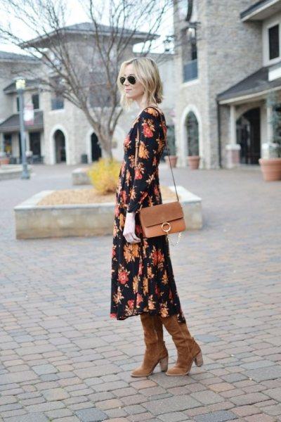 Такое платье идеально впишется в осеннюю погоду и легко сделает вас самой стильной