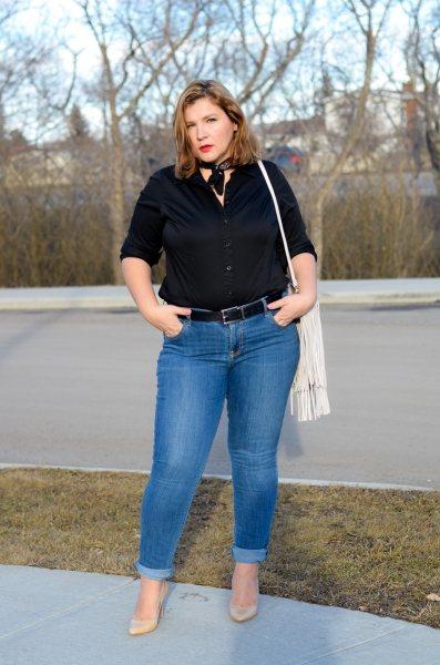5 советов, как носить рубашки большого размера и быть на высоте
