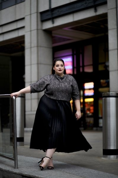 Какую длину платья выбрать? 3 главные ошибки, которые совершают полные девушки