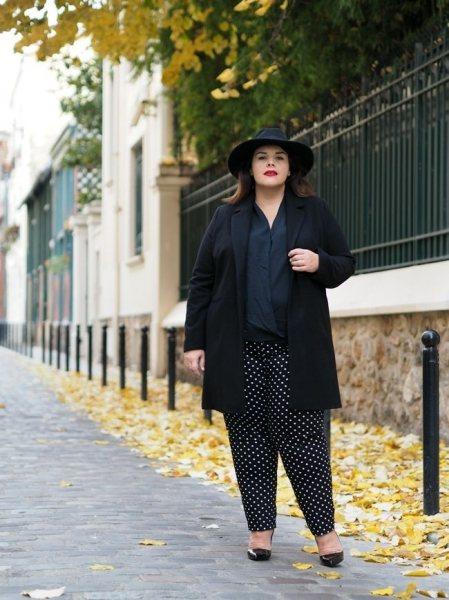 8 эффектных образов на осень для полных, но стильных женщин
