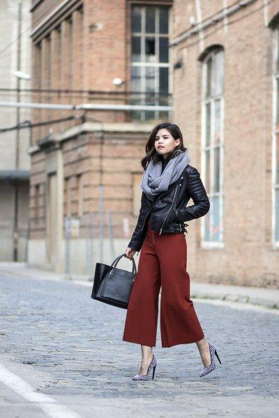 Вот как нужно носить косуху осенью: 7 стильных вариантов