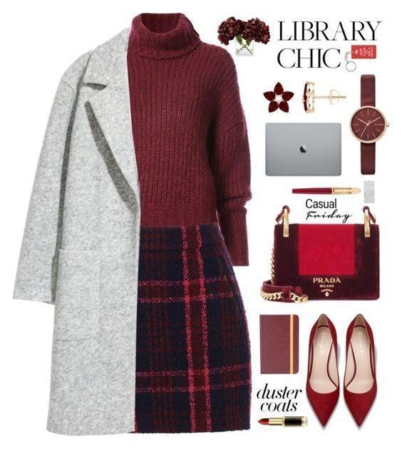 О, этот винный цвет: 11 уютных образов для холодных деньков