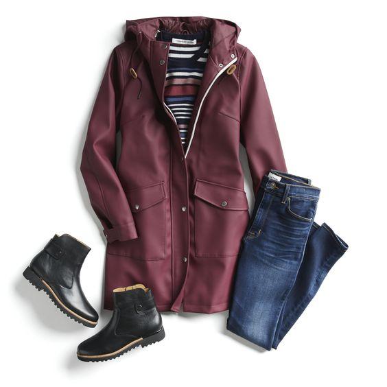 Модные образы с джинсовыми куртками и ботинками для осенней прогулки