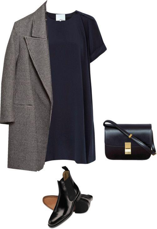 6 образов с серым пальто, которые вам не захочется снимать этой осенью