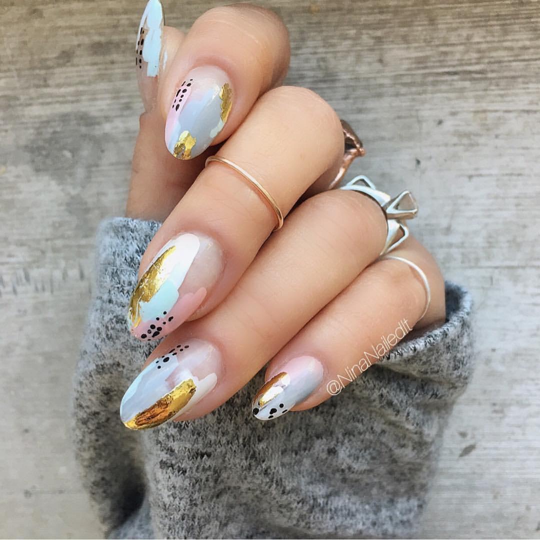 Самый модный дизайн ногтей на осень, которые уже красуется на пальчиках столичных модниц