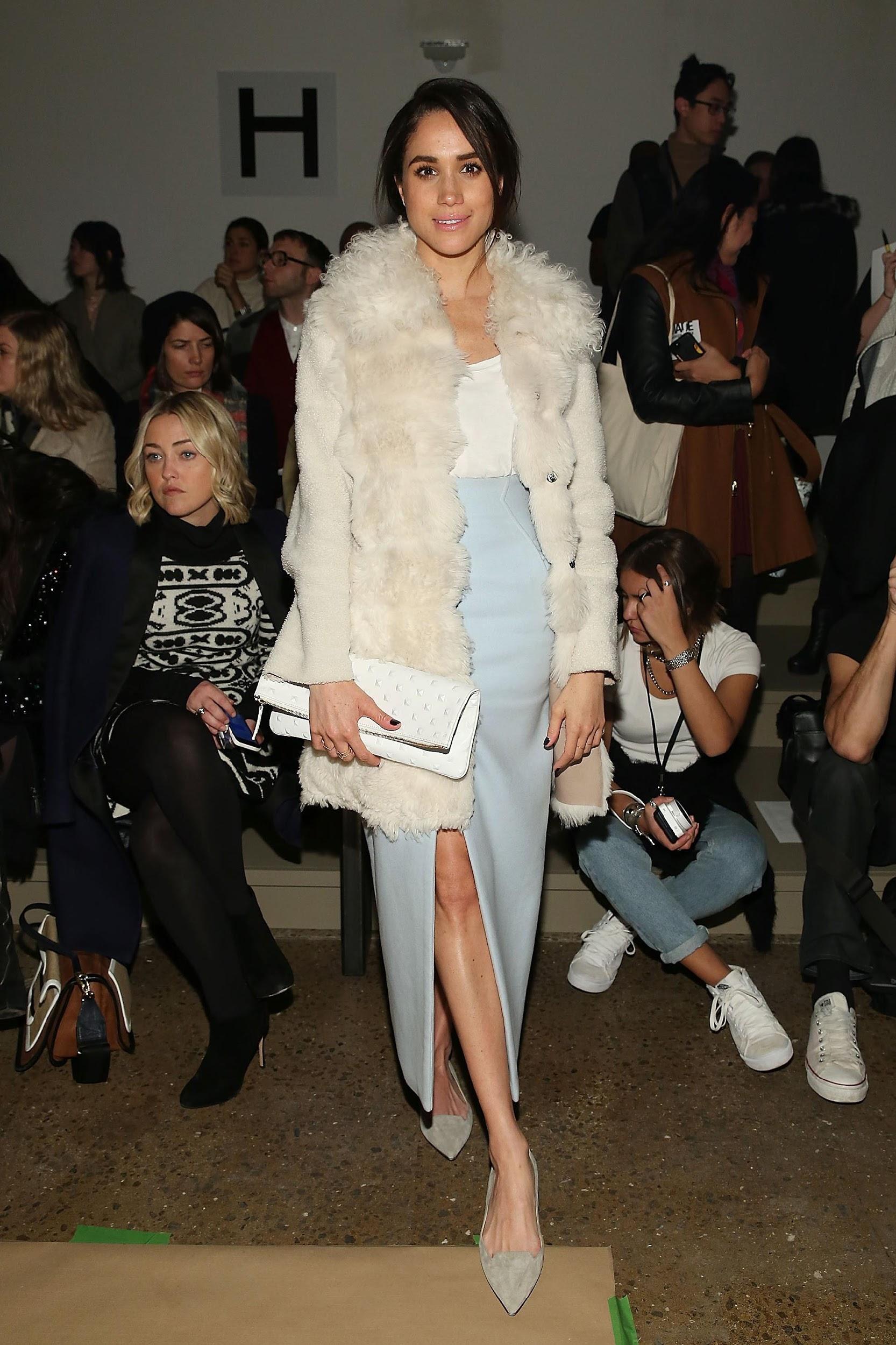 Как изменялся стиль Меган Маркл с годами: 14 лучших образов герцогини на Неделях Моды