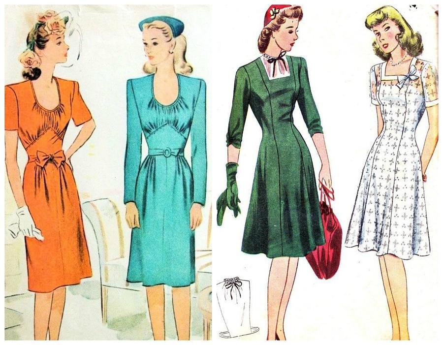 Эти 5 модных хитростей помогали нашим бабушкам казаться выше и стройнее