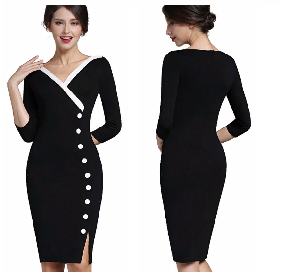 Стильные платья в офис за 1000 рублей на Алиэкспресс (наш выбор)