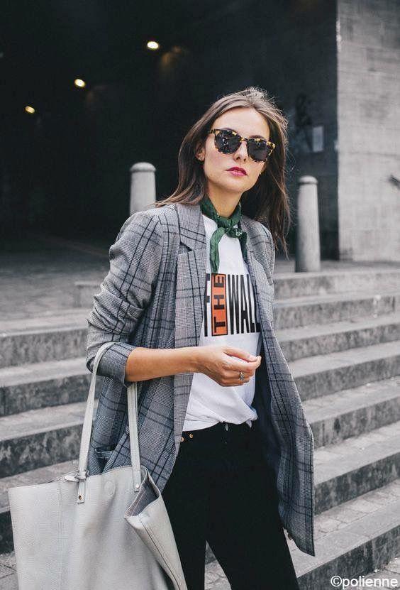 Как носить пиджак в клетку и выглядеть как супер-звезда: 5 модных идей