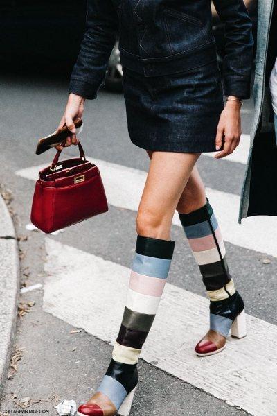 Как носить яркие сапоги и не казаться провинциалкой: 6 главных правил