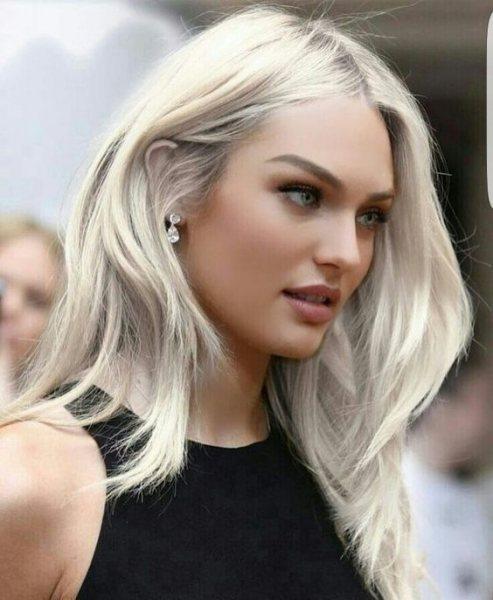 Очень вызывающая блонда