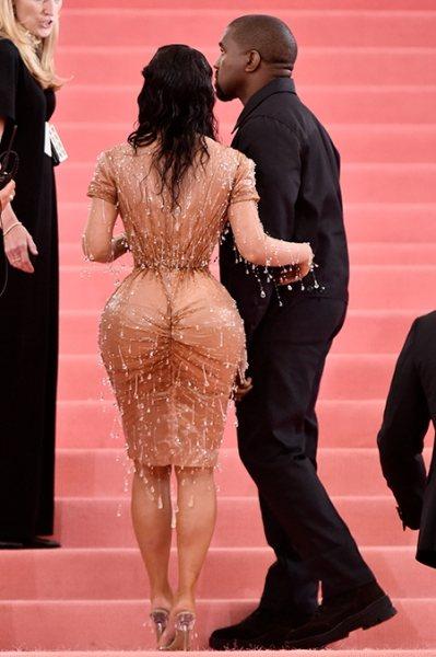 Корсет, влажная укладка и латекс: почему о Ким Кардашьян говорят даже после Мет Гала