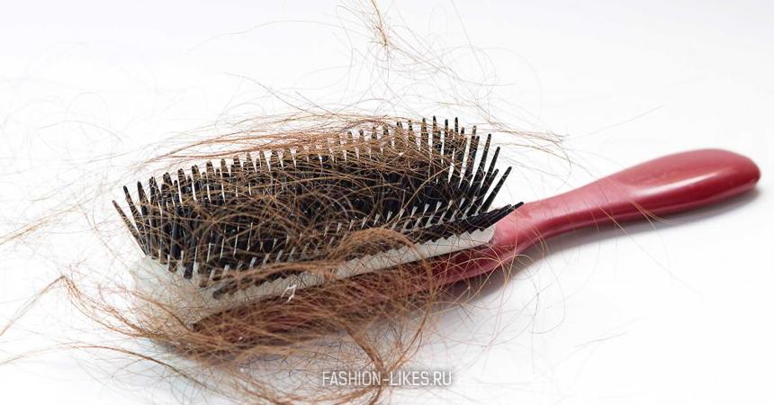 Почему лезут волосы осенью